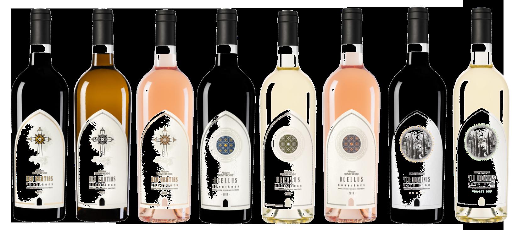 gamme vins fontfroide