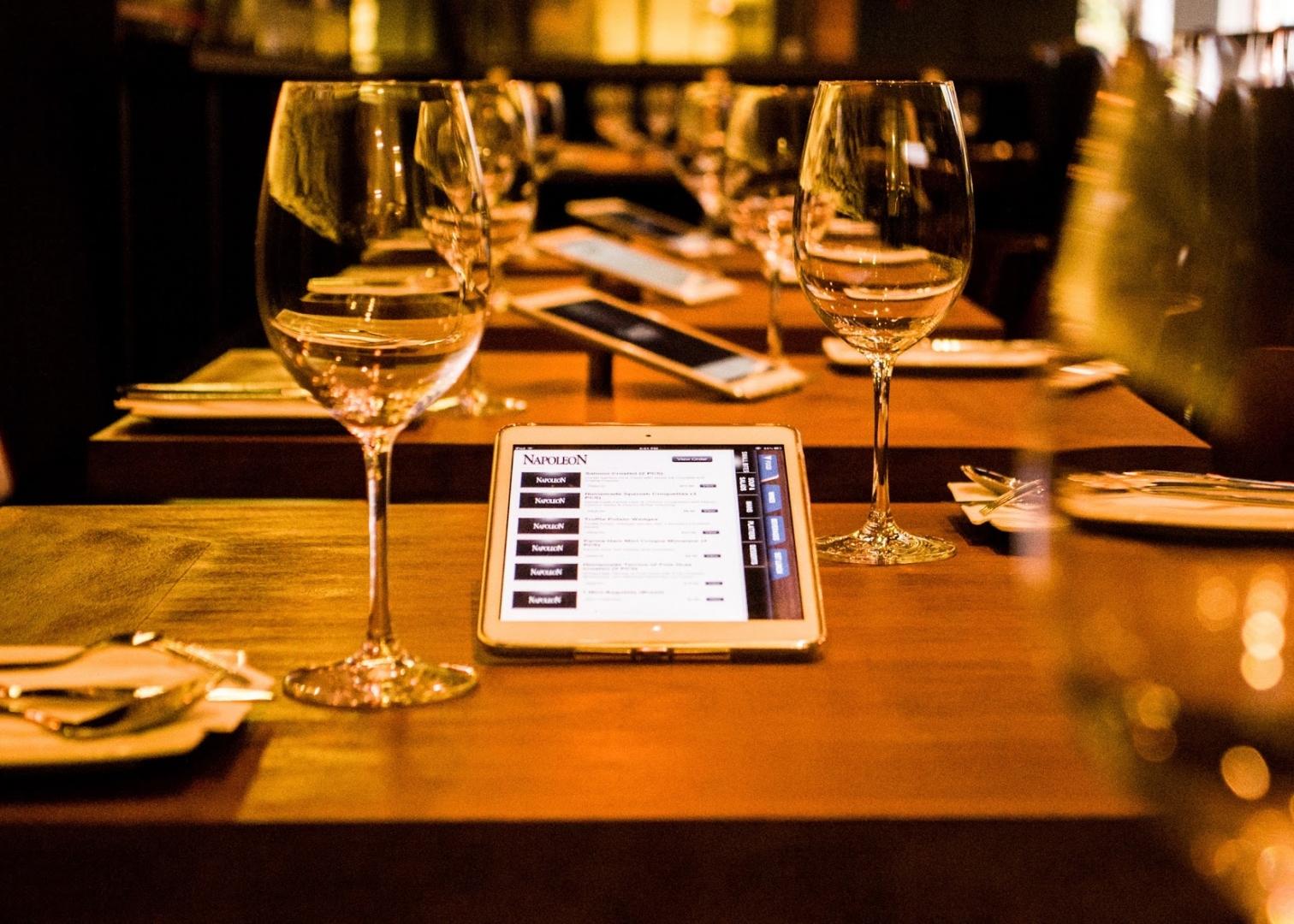 carte des vins restaurant
